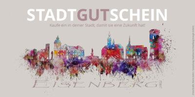 Stadtgutschein - Foto/Grafik: Mario Gehrt / Gestaltung: Stadtwerke Eisenberg Energie GmbH